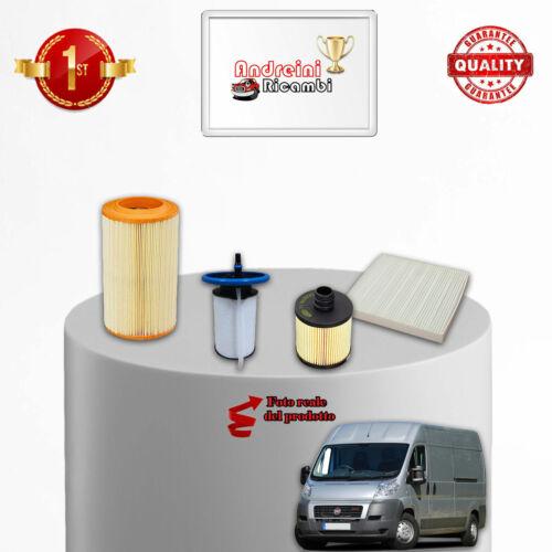 KIT TAGLIANDO 4 FILTRI FIAT DUCATO III 2.0 D 85KW 115CV DAL 2011 />