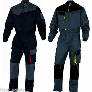 Delta-Plus-Panoply-DMCOM-D-Mach-Mens-Kneepad-Work-Overalls-Coveralls-Boilersuit
