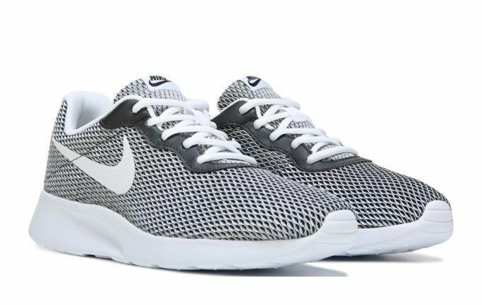 outlet store f75c2 9e0ed ... discount mens chaussures nike tanjun se fonctionnement chaussures mens  noir blanc tailles 8 12 new 82385