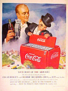 OLD VINTAGE COCA COLA COKE BASKETBALL  PAPER ADVERTISING POSTER