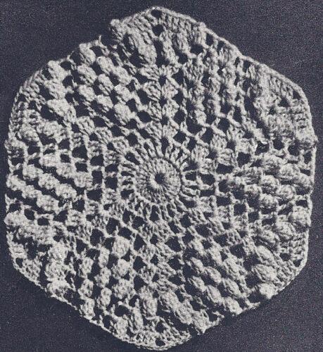 Vintage Crochet PATTERN MOTIF BLOCK Bedspread Prophesy