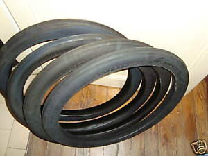 Promo-Lot-4-Pneus-Solex-Made-in-France-1-3-4-x-19-tyres