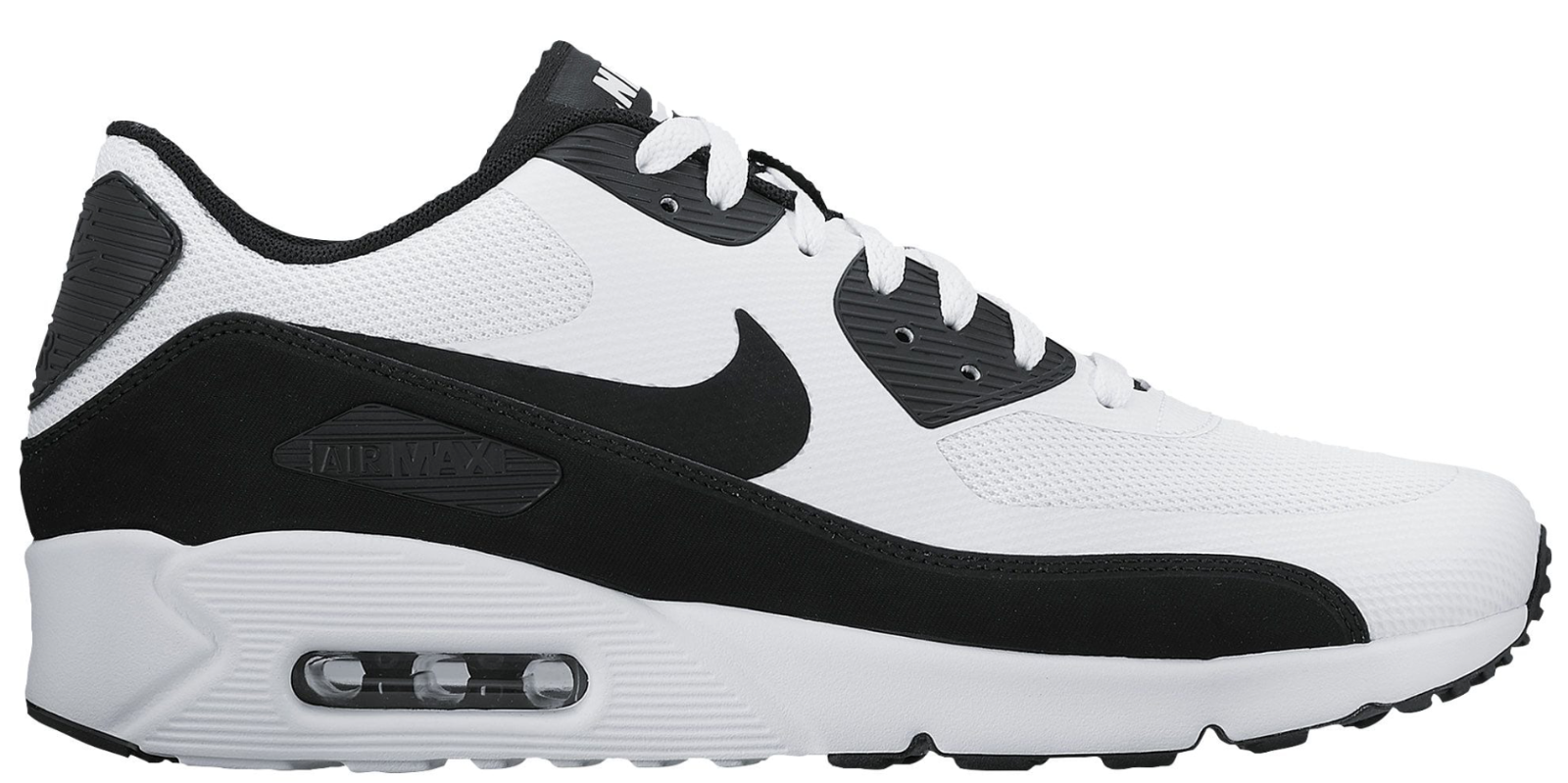 NEW Men's Nike Air Max 90 Ultra 2.0 Shoes Size: 6.5 Color: White/Black