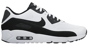 NUOVO da uomo Nike Air Max 90 Ultra 2.0 Scarpe Numeri 9.5 colore Bianco/Nero