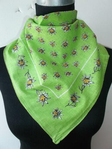 foulard Nuovo * 002 * paese casa stile 50x50 CM Trachten Mode Edelweiss Nicki sciarpa