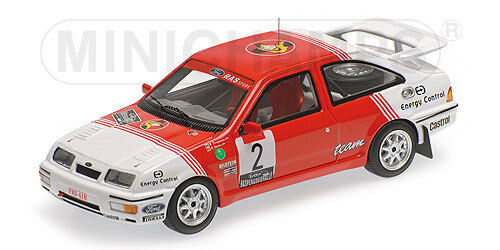 Minichamps 437878102 FORD SIERRA RS COSWORTH WINNER LOTTO HASPENGOUW RALLY  1 43