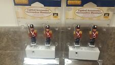 Lemax Lighted Accessories Lighted Toy Soldiers set of 2 packages NEW