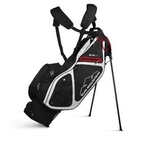 2020-Sun-Mountain-Golf-Three-5-LS-Stand-Bag-Black-White-Red