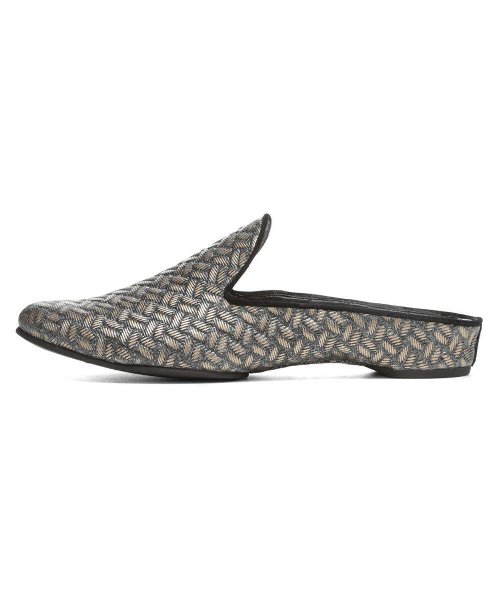 NIB Donald J Pliner shoes BAZ-25 Platino Woven Metallic Metallic Metallic Size 7M 7.5M 8M be3987