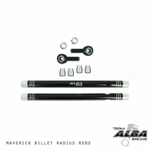 Racing Radius Rods  Lifetime Warranty NEW   600-RR-B Max Can-Am Maverick