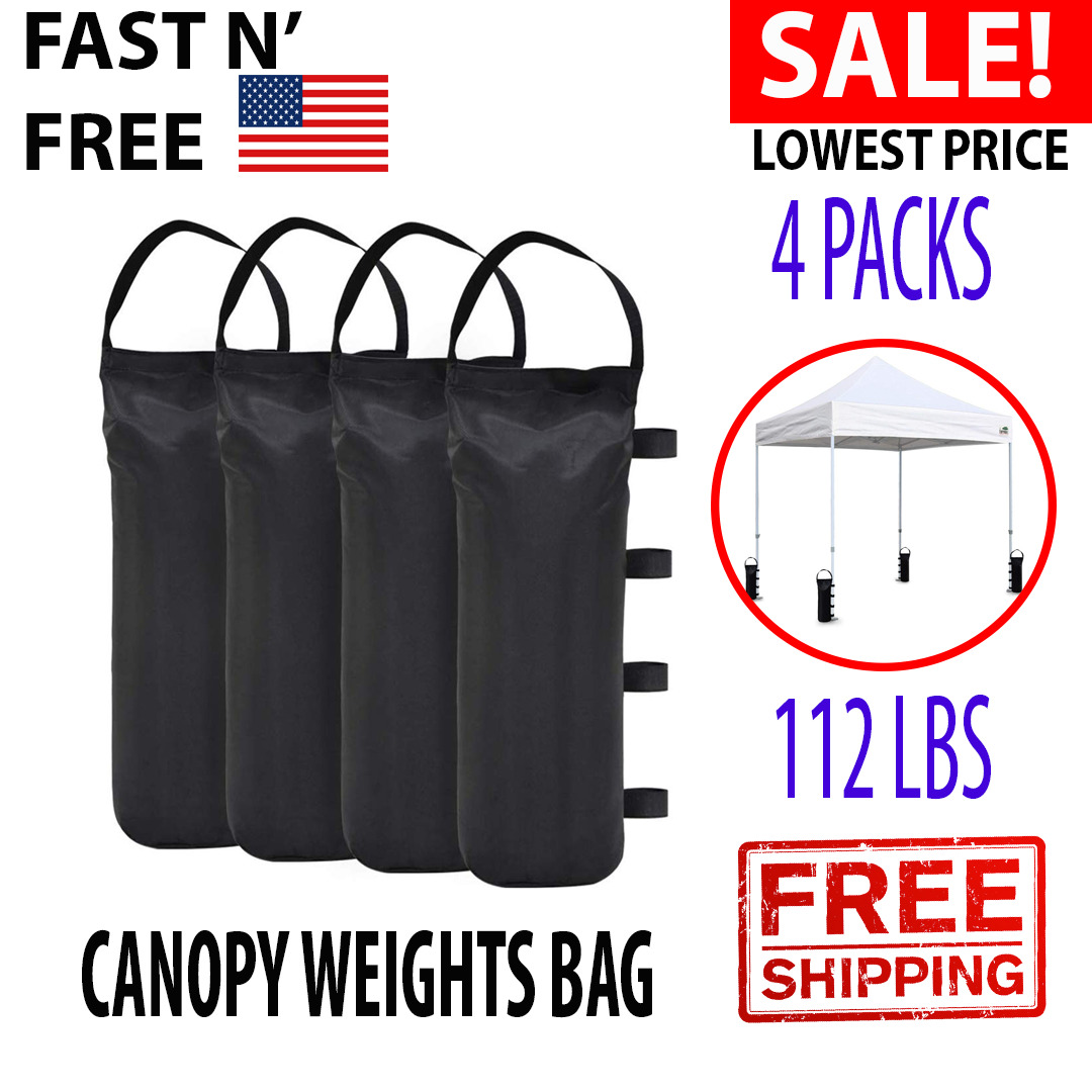Canopy Tent Weights Sand Leg Bags Extra Large Pop Up Ez Up