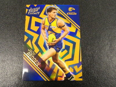 Amiable 2018 Afl Select Legacy Holographic Parallel Card No.hp203 Jack Redden Wc 264 Sports Trading Cards