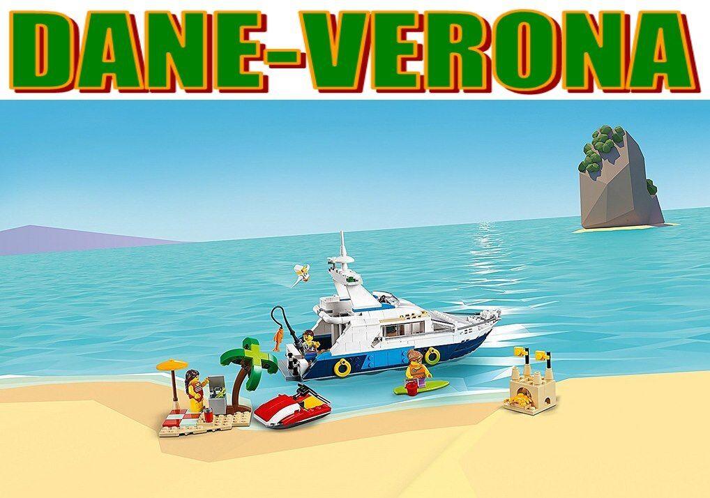 Lego - AVVENTURE IN MARE - Cruising Adventures  31083  Creator
