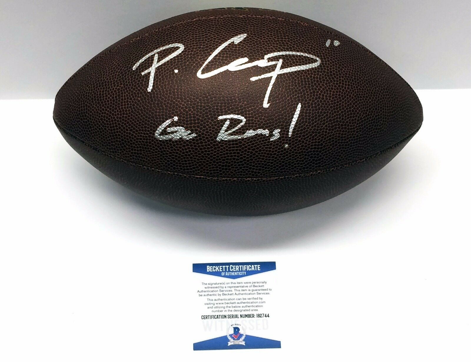 Los Angeles Rams Pharoh Cooper Signed Wilson NFL Football BAS I82744