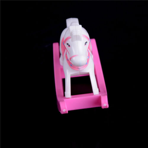 Plastic Rocking Horse Cockhorse Dollhouse Accessories for  Dolls JH