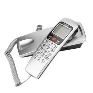 09974e5805d2 UK Caller ID Telephone Corded Phone Wall /Desk Landline Extension ...