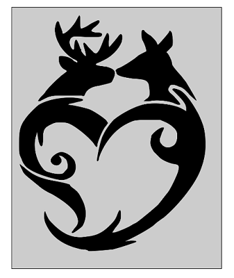 Browning Deer Buck Doe Family Sticker Decal You customize the kids Hunting
