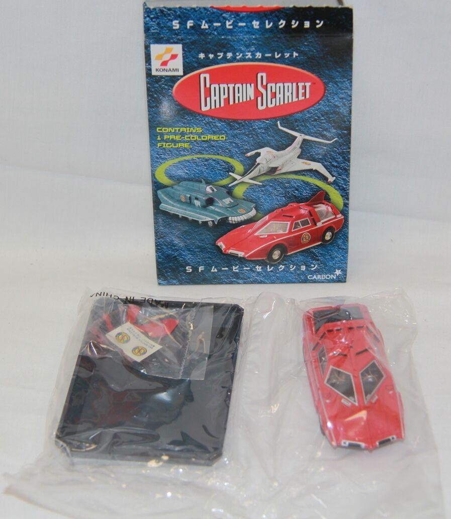 CAPTAIN SCARLET   Spectrum Saloon Car model made by KONAMI in 2001