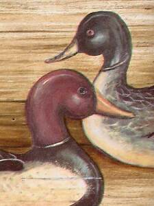 Wooden Duck Decoys Wallpaper Border Only 6 Imperial Borders 3