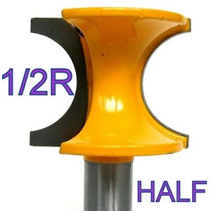 1-pc-1-2-034-Shank-1-2-Inch-Rad-Half-Round-Bull-Nose-Router-Bit-S