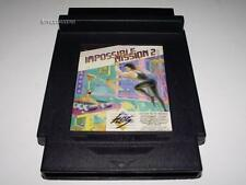 Impossible Mission 2 Nintendo HES NES PAL Preloved Piggy Back Cartridge