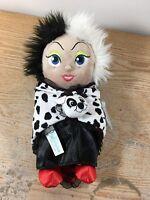 Disney Park Baby Cruella De Vil In A Blanket 10 Plush