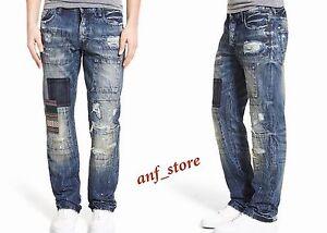 82493c3dd1792 NWT PRPS Goods JAPAN Barracuda Straight Men Jeans 34 x 32 Selvedge ...