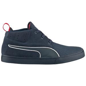 new style 4e693 44e3e Details about Puma Red Bull Desert Boot Vulc Rbr Men's Shoes Sneaker Navy  Blue New 305926-01