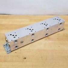 Daman Ad05p045s Aluminum Hydraulic 4 Valve Manifold Used