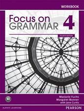 Focus on Grammar 4 Workbook by Marjorie Fuchs Paperback Book (English)