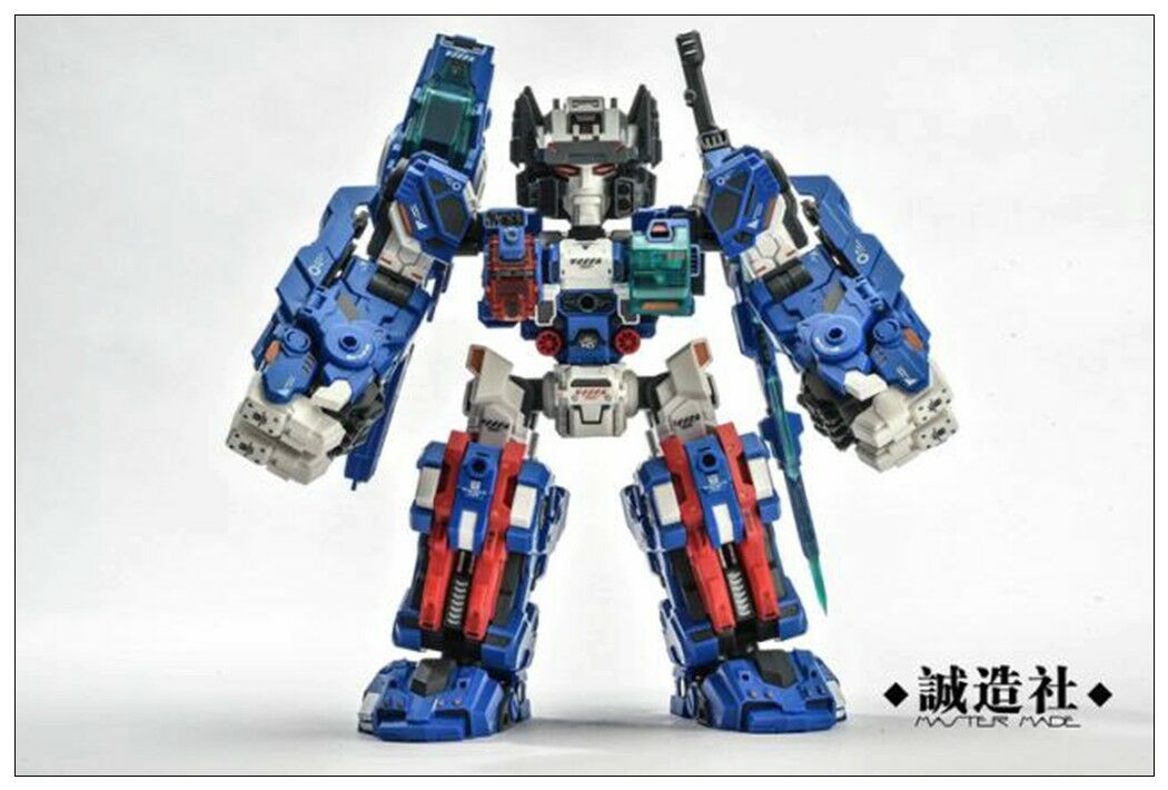 New Master Made SDT-05 Robot Odin Fortress Maximus Q Version Action Figure Toy