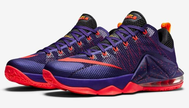 online retailer fbc2c 2692c ... cheapest new nike lebron 12 xii 724557 low basketball court purple  bright crimson sz 10 dde26