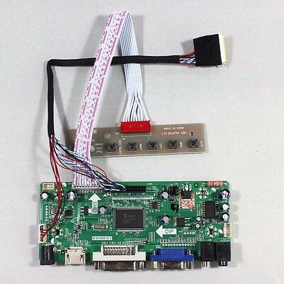 S1 TL 1366X768 HDMI+DVI+VGA LCD Controller Driver Board for LED Panel LP156WH3
