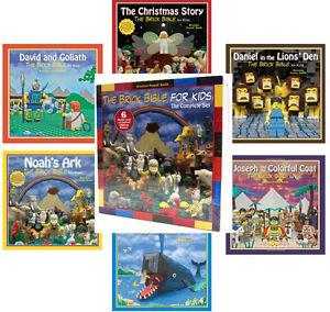 Brick Bible For Kids Hc Christmas Story Jonah Whale Noahs Ark