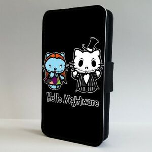 27238be27 Image is loading Nightmare-Before-Christmas-Hello-Kitty-FLIP-PHONE-CASE-