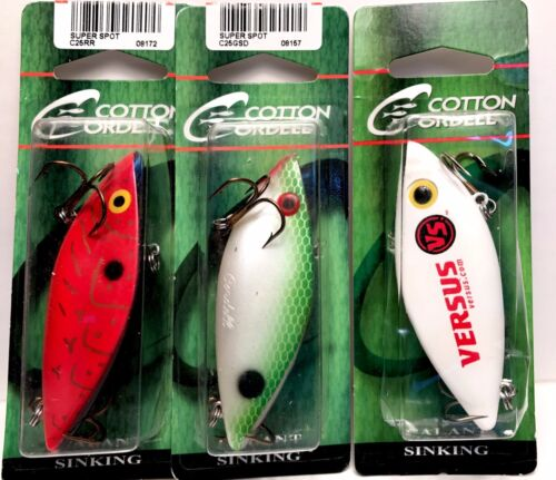 Cotton Cordell Sinking Super Spot Choice of Color One Package