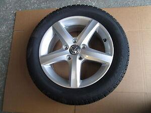 VW-Alufelge-5G0071496-mit-Pirelli-Snow-Control-205-55-R16-91H-Winter-Reifen