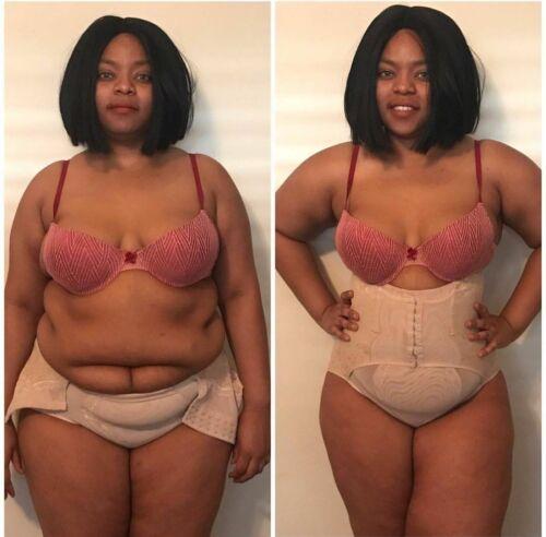 High-Waist Tummy Control Girdle Panties Body Trainer Shaper Butt Lifter Cincher
