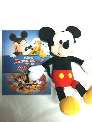 Kohls Cares 14 Original Donald Duck 90th Anniversary Plush with 5 Minute Hardcover Story Book