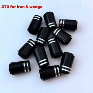 Black-370-Golf-Iron-Ferrule-Silver-Trim-Ring-For-Titleist-Taylormade-P7TW-PING