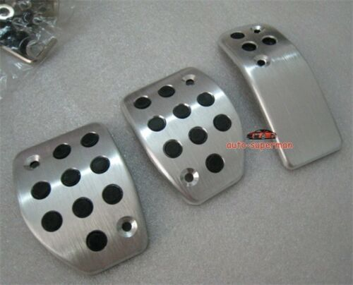 Racing Sport Foot Pedal Plate Cover MT For Peugeot 207 208 301 307 2008 308CC