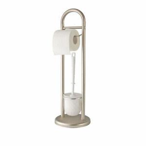 WENKO-Exclusiv-Stand-WC-Garnitur-Siena-Toilettenpapierhalter-unbenutzte-B-Ware