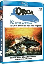 ORCA : THE KILLER WHALE (Richard Harris) - Blu Ray - Sealed Region B for UK