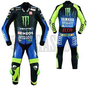 Valentino-Rossi-Yamaha-MotoGp-2019-Motorbike-Racing-Leather-Suit-All-Sizes