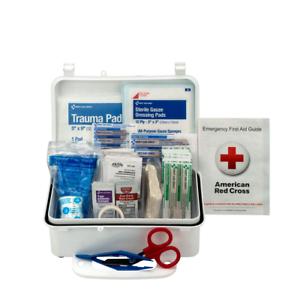Pac-Kit 6060 57 Piece #10 ANSI First Aid Kit, Weatherproof Plastic Case FASTSHIP