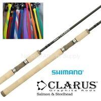 Shimano Clarus 10' Salmon Steelhead Spinning Fishing Rod 2pc Medium Css100m2b