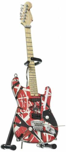 EVH Minature Guitars Frankenstein Mini Replica Guitar Van Red /& White
