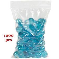 "1000 Zipper Poly Bag Resealable Reclosable Plastic Baggies 1.5""x2"" Ziplock 2 mil"