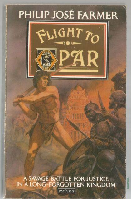 Flight to Opar by Philip Jose Farmer (Paperback, 1977)