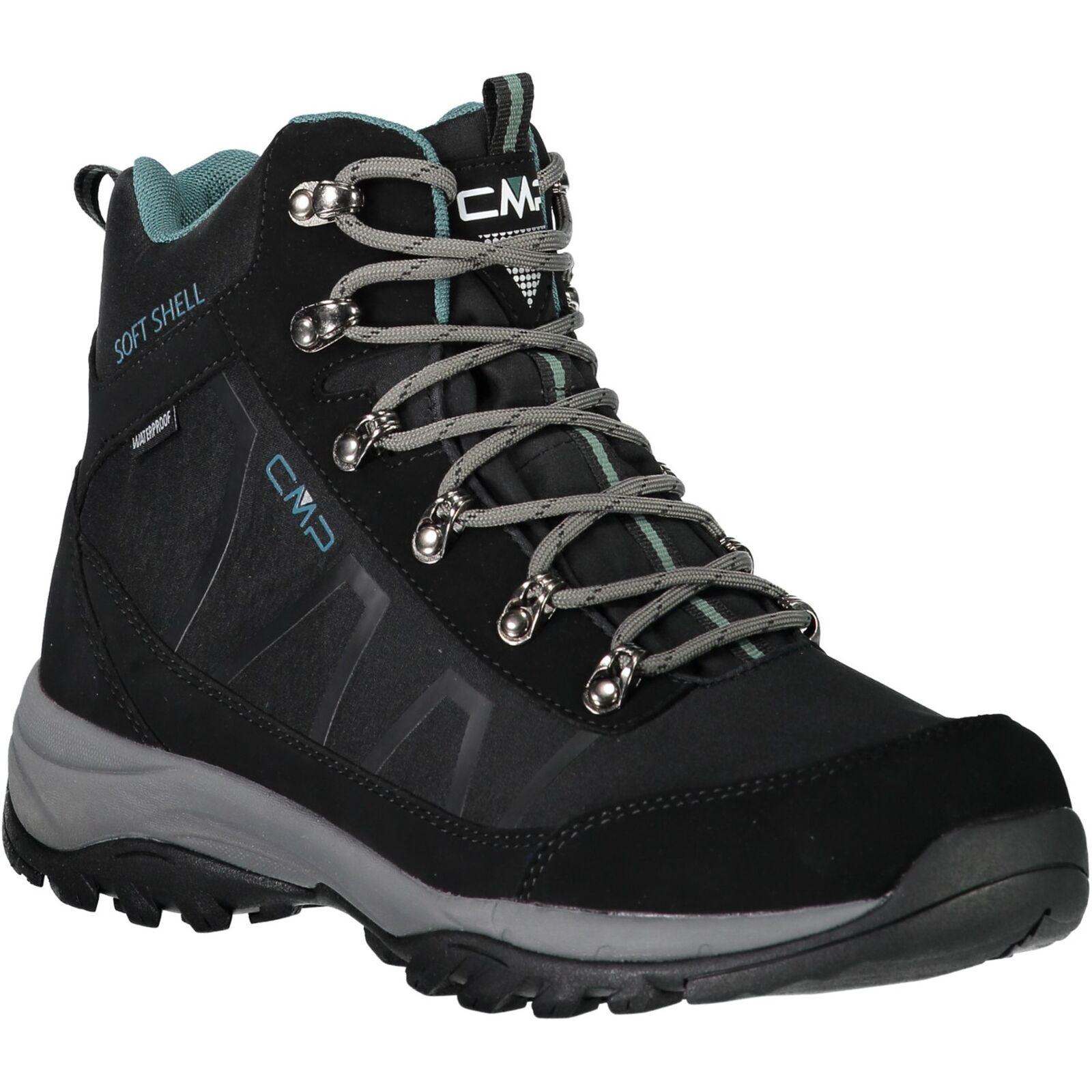 CMP Trekkingschuhe Outdoorschuh SOFT NAOS TREKKING schuhe WP schwarz  | Primäre Qualität
